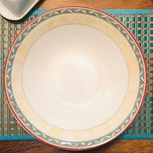 🔥3/$25 Ivory Porcelain Large Serving Bowl